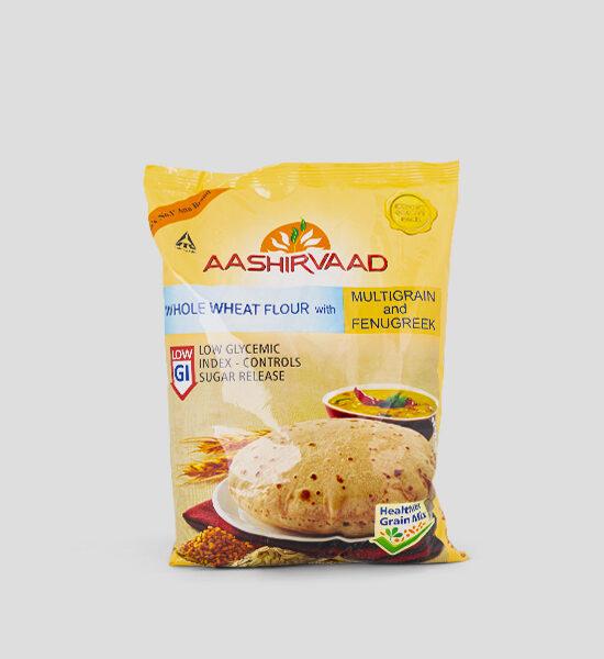Aashirvaad Multigrain & Fenugreek Atta