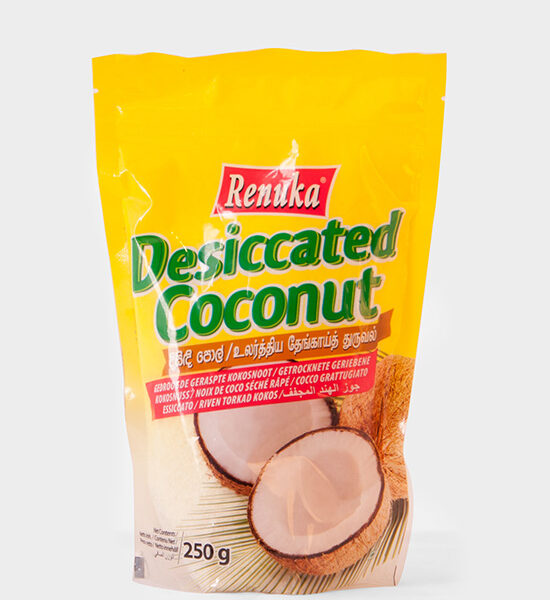 Renuka, Desiccated Coconut Powder, 250g, Spicelands