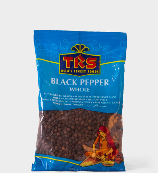 TRS, Black Pepper Whole, 100g, Spicelands