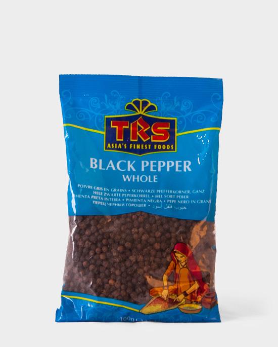 TRS, Black Pepper Whole, 100g, Spicelands