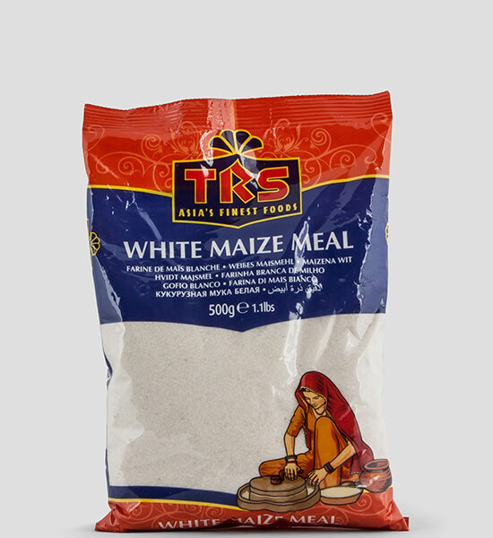 TRS, White Maize Mehl,500g, Spicelands