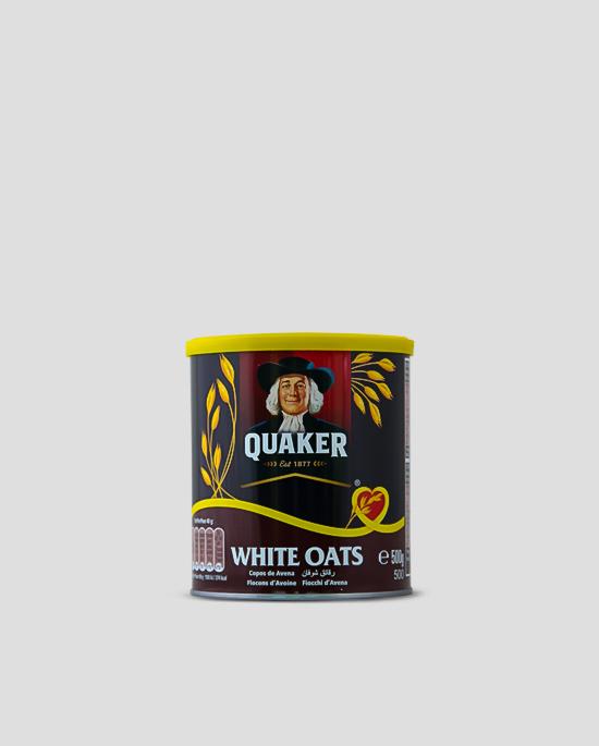 Quaker White Oats 500g