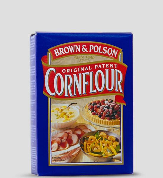 Brown & Polson Cornflour 250g Produktbeschreibung Brown & Polson Original Patent Cornflour (Maismehl) ist eine Maisstärke gemahlen aus Maiskörnern - Gluten Frei