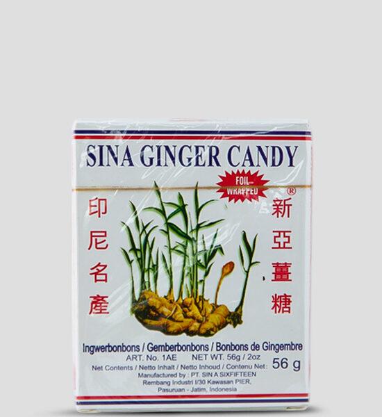 Sina Ginger Candy 56g Produktbeschreibung Die leckeren Ingwerbonons von Sina - jetzt hier erhältlich