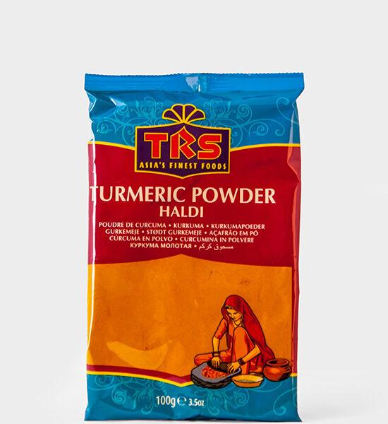 TRS, Kurkuma Pulver, Haldi Powder, 100g, Spicelands
