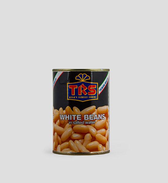 TRS, White Beans, Weiße Bohnen, 400g, Spicelands