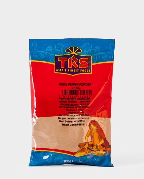 TRS, weißer Pfeffer gemahlen, White Pepper Powder, 100g, Spicelands