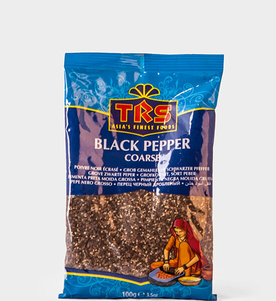 TRS, schwarzer Peffer gemahlen, Black Pepper Coarse, 100g
