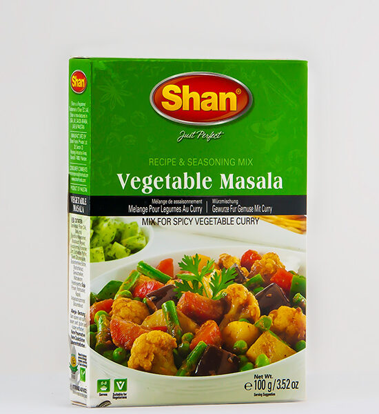 Shan, Vegetable Masala 100g, Spicelands