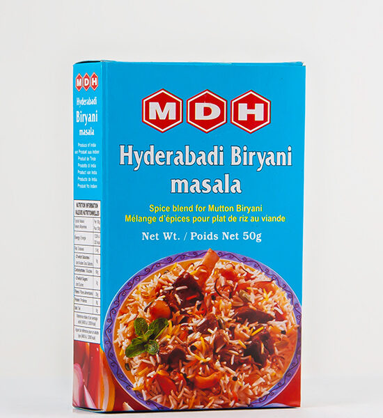 MDH Hyderabadi Biryani Masala, 50g, Spicelands
