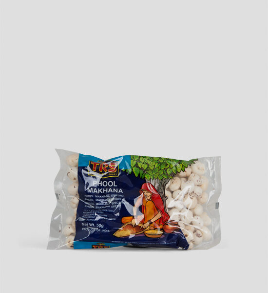 TRS Phool Makhana 100g Produktbeschreibung Popped Lotus Seeds