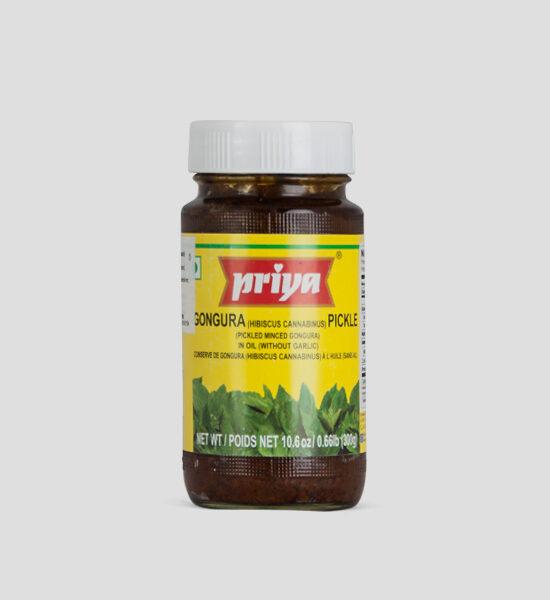 Priya, Gongura Pickle, 300g, Spicelands