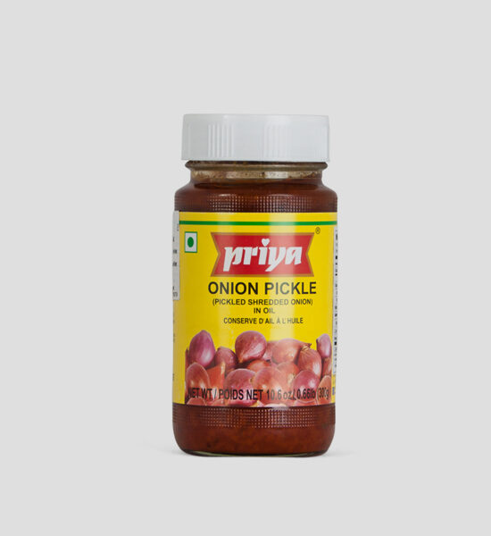 Priya, Onion Pickle, 300g Produktbeschreibung Onion Pickle in Oil
