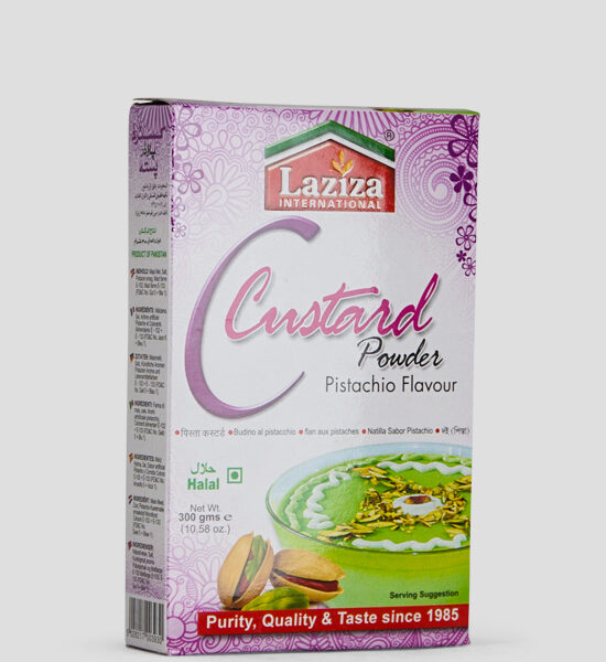 Laziza Custard Powder, Mango Flav, 300g Produktbeschreibung Puddingpulver Pistazien Geschmack, Spicelands
