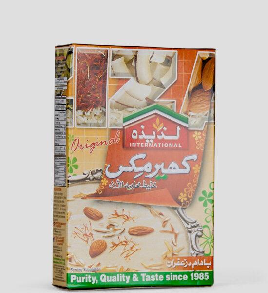 Laziza Rasmalai Mix Almond+Saffron, Süße Mischung mit Mandel+Saffron, 75g Produktbeschreibung Desser Mix, Süße Mischung mit Mandel+Saffron für Milchbälchen in Sirup,Spicelands