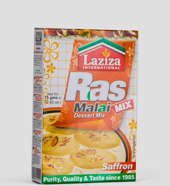 Laziza Rasmalai Mix Saffron, Süße Mischung mit Safran, 75g Produktbeschreibung Desser Mix, Süße Mischung mit Safran für Milchbälchen in Sirup, Spicelands, Frankfurt