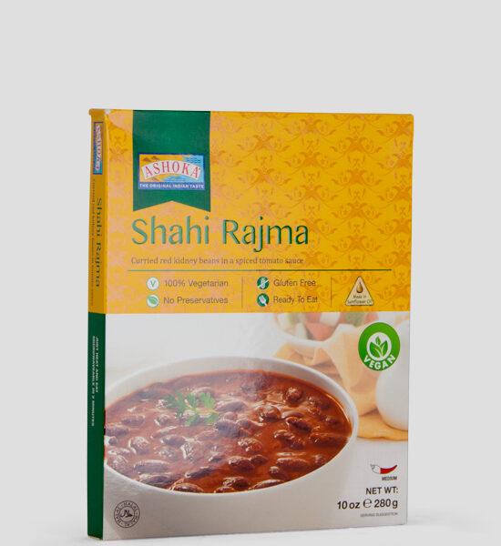 Ashoka, Shahi Rajma, 280g Produktbeschreibung Fertiggericht 100% Vegetarisch, Glutenfree, ohne Zusatzstoffe.