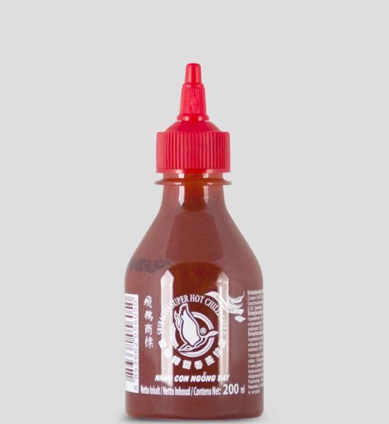 Sriracha Chilli Sauce, Extra scharf, 200ml Produktbeschreibung Sriracha extra scharfe Chilisauce, Sriracha extra scharfe Chilisoße