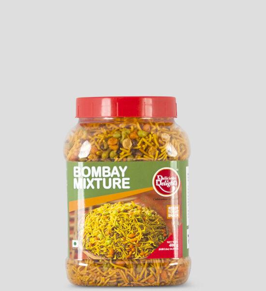 Delights,Bombay Mixture, 400g Produktbeschreibung Ready to Eat Snacks. Knusprige Bombay Chips aus Indien.