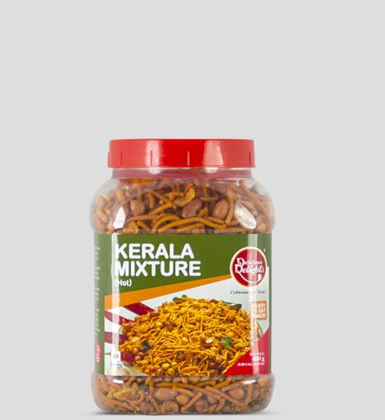 Delights, Kerala Mixture Hot, 400g Produktbeschreibung Ready to Eat Snacks. Knusprige scharfe Chips aus Indien.