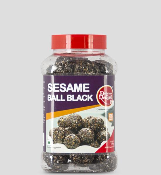 Delights, Sesamball Black, 175g Produktbeschreibung Ready to Eat Snacks. Knusprige Sesambällchen aus Indien.