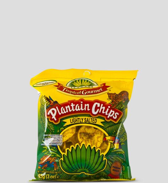 Tropical Bananenchips gesalzen, 85g Produktbeschreibung Bananenchips gesalzen