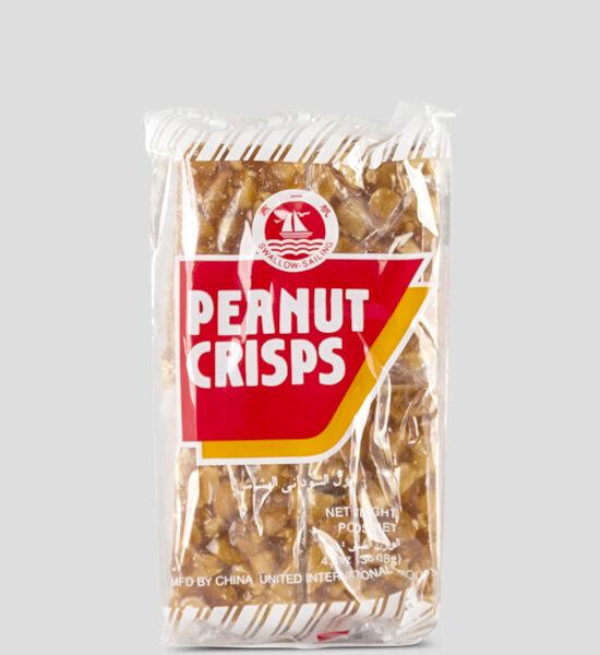 Swallow, Peanut Crispy, 136g Produktbeschreibung Ready to Eat Snacks. Knusprige Erdnusskekse