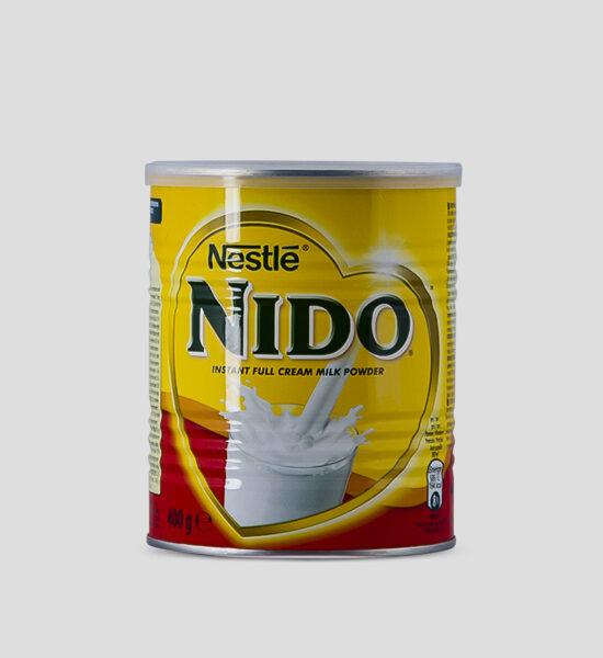 Nestle, Nido, 400g Produktbeschreibung Nido Instant Vollmilchpulver.