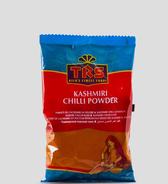 TRS, Kashmiri Chilli Powder, 100g Produktbeschreibung Kashmiri Chilli Powder. Kashmiri Chilli Pulver.