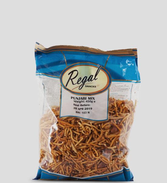 Regal, Punjabi Mix, 450g Produktbeschreibung Ready to Eat Snacks. Knusprige Indische Chips.