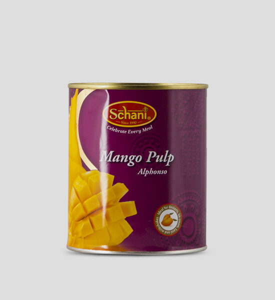 Schani, Mango Pulp, Alphonso, 850g Produktbeschreibung Alphonso Mango Pulp werden zu Mangopüree verarbeitet. Es eignet sich hervorragend zu kalten oder warmen Gerichten, zum Kochen oder Backen, zu Desserts oder Eis