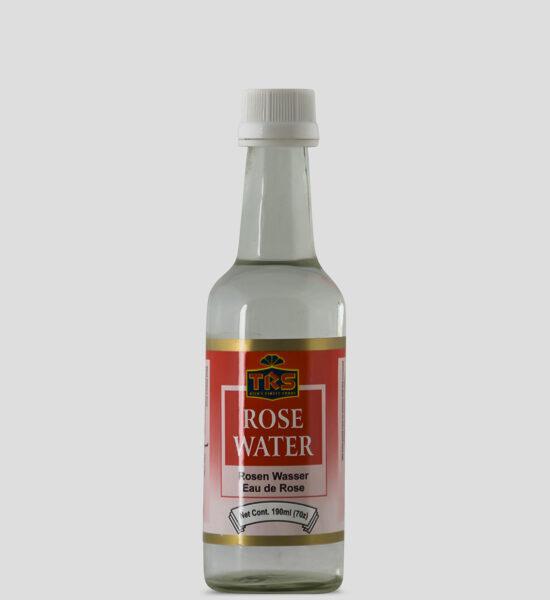 TRS Rose Water, 190ml Produktbeschreibung Rosenwasser ist ein Duftwasser aus frischen Rosenblättern.