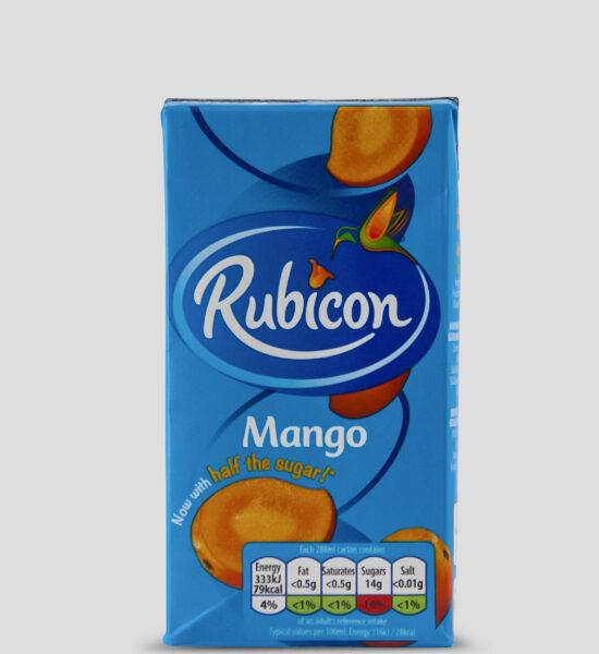 Rubicon Mango Tetrapack 288ml Produktbeschreibung Exotisches Mangofruchtsaft Getränk, ideal für unterwegs
