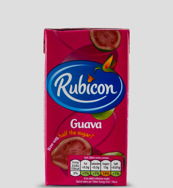Rubicon Guava Tetrapack 288ml Produktbeschreibung Exotisches Guavafruchtsaft Getränk, ideal für unterwegs