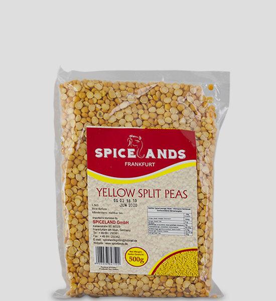 Spicelands Yellow Split Peas 500g Produktbeschreibung Halbiert gelbe Linsen