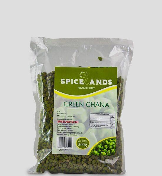 Spicelands Green Chana 500g