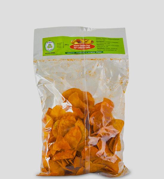 Amutha Hot Cassava Chips 200g Produktbeschreibung Scharfe Cassava Chips ideal zum snacken geeignet.