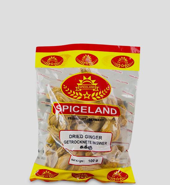 Spicelands Dried Ginger 100g Produktbeschreibung getrocknete Ingwer