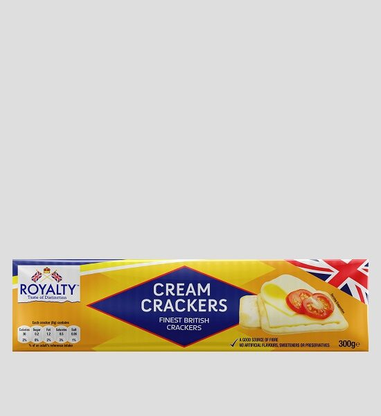 Royalty Cream Crackers 300g