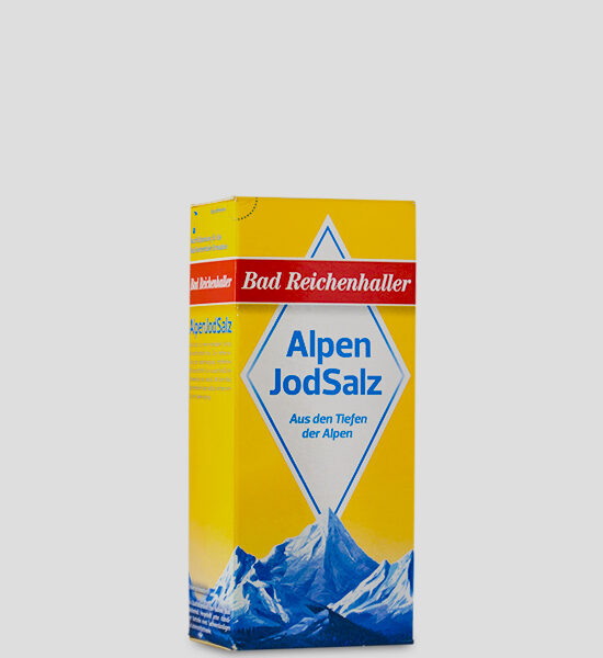 Bad Reichenhaller Alpen Jodsalz 500g Produktbeschreibung Alpen Jodsalz - Hochwertiges Salz aus den Alpen. Jod trägt zu einer normalen Schilddrüsenfunktion bei.