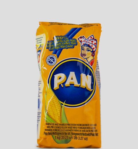 Harina P.A.N. Amarillo Produktbeschreibung Gelbes feines Maismehl, vorgekocht.