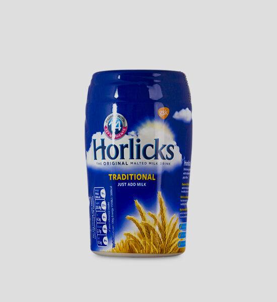 Horlicks 300g Produktbeschreibung Horlicks Malz Getränk Pulver gibt Ihnen Energie für einen gesunden Körper mit vielen Vitaminen. Mit heißer Milch anrühren, Ohne künstlichen Farbstoffe und Aromen