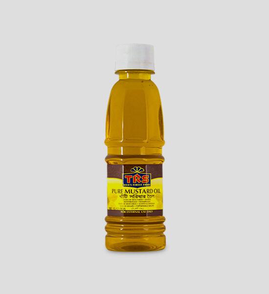 TRS Mustard Oil 250ml Produktbeschreibung Senföl - Mustard Oil - Nur für äußerliche Anwendungen - For external use only
