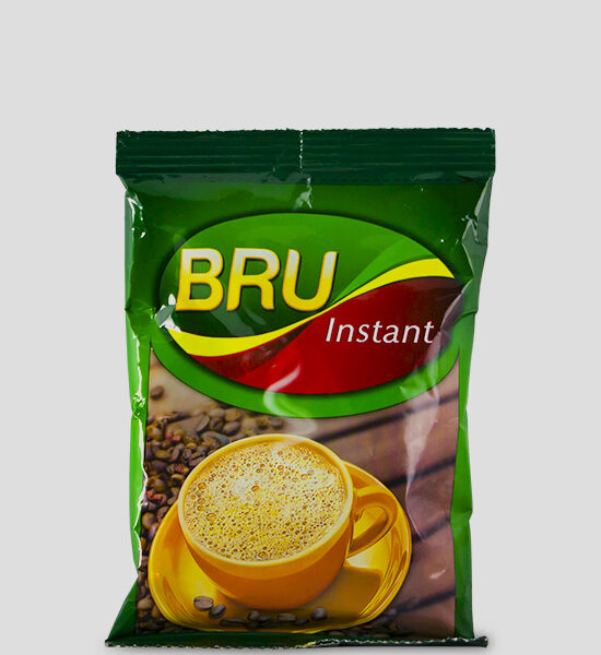 Bru Instant Coffee 50g Contains robusta bean Fresh and rich in taste New and enhanced processes ensure that the fresh coffee aroma is preserved