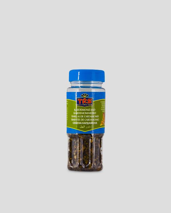 TRS, Kardamom Samen, Cardamomseeds, 50g Produktbeschreibung In Indien ist Kardamom Bestandteil von Currys sowie der Gewürzmischung Garam Masala, wird zum Würzen traditioneller Reisgerichte und zur Zubereitung von Tee (Chai) verwendet.