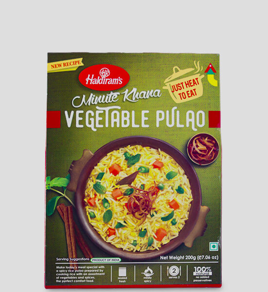 Haldirams Vegetable Pulao 200g, Copyright Spicelands