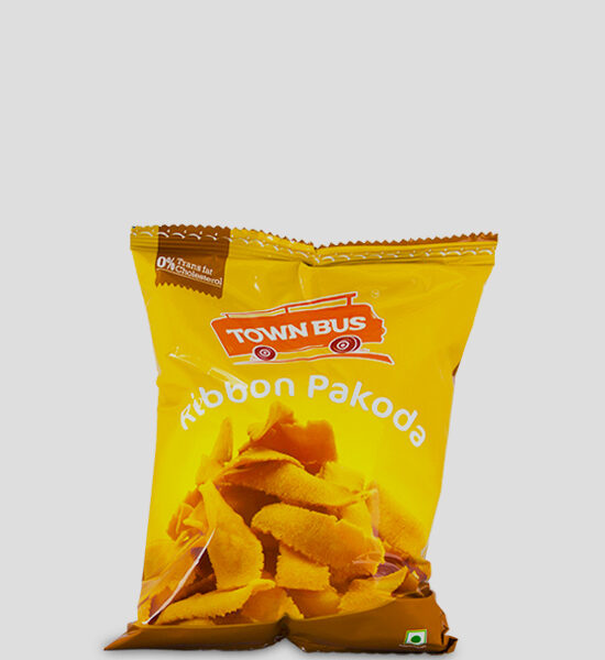 GRB Townbus Ribbon Pakoda 150g Produktbeschreibung Namkeen - Town Bus Ribbon Pakoda made from traditional recipes and the freshest of ingredients. Town Bus products will make you feel nostalgic about your memorable journeys and the taste will take you back in time Town Bus... Every bite has a story