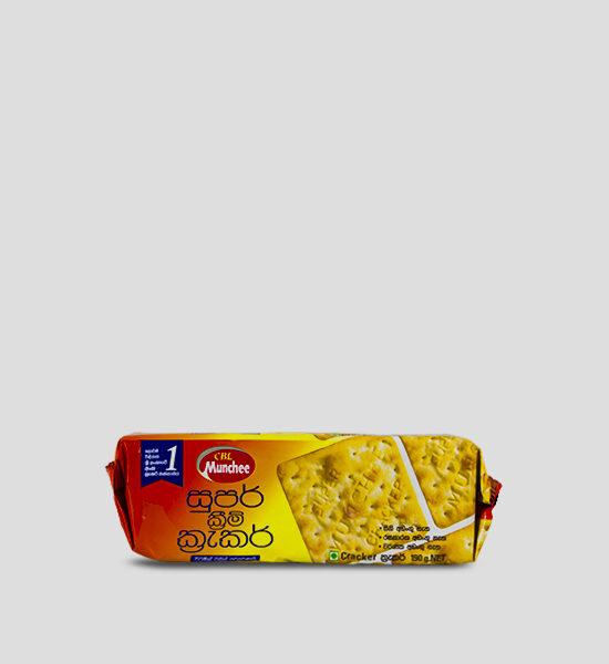 Munchee Super Cream Cracker 190g Produktbeschreibung Super Cream Cracker Zutaten und Allergene Weizenmehl, Palmöl, Malz, Salz, Hefe, Maismehl, Backtriebsmittel E500, E322, Vitamin A,B1,B3,B6,B12,D,E,K, Panthothensäure, Folsäure, Folacin, Pflanzenextrakt (Rosmarin). Enthält Weizen