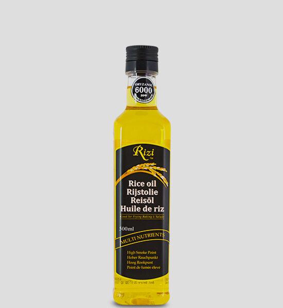 Rizi Reisöl 500ml Produktbeschreibung Rizi Reisöl - Riceöl - für viele Anwendungen in der Küche geeignet. Rizi ist eine reichhaltige Quelle von natürlichen Antioxidantien Vitamin E und Gamma-Oryzanol. Es weist eine sehr ausgewogene Fettsäurenzusammensetzung auf und enthält Omega-3 und Omega-6. Rizi Reis-Öl ist ein vielseitiges Öl, hervorragend geeigent für Salatsaucen und ideal zum Braten und Backen (aufgrund seines hohen Rauchpunktes von 250°C).