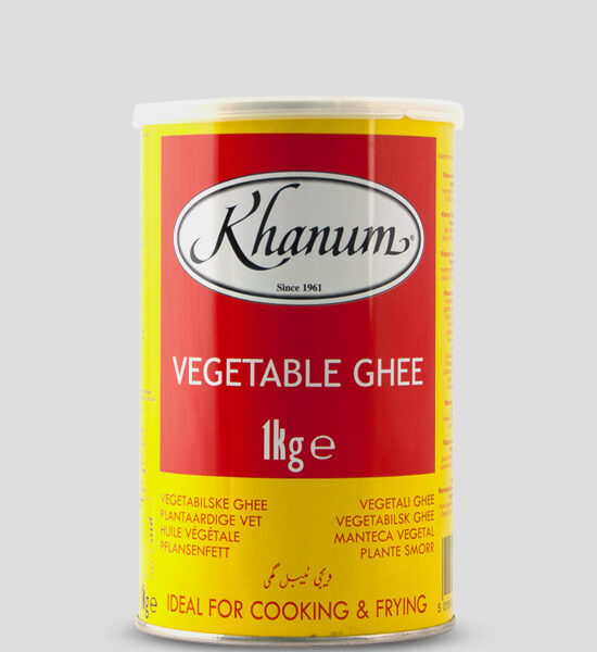 Khanum Vegetable Ghee 1kg, Copyright Spicelands